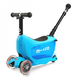 Самокат-трансформер Micro Mini2Go Deluxe Plus