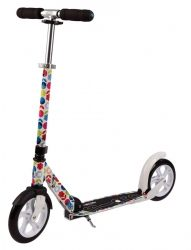 Micro Scooter White Floral Multicolor (SA0052)