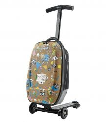 26cdef27a4c8 Самокат-чемодан Micro Luggage Steve Aoki Sound2GO (ML0007)