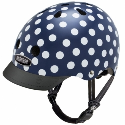 Шлем Nutcase Navy Dots